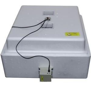 Инкубатор с аналоговым терморегулятором, цифровой индикацией, на 104 яйца, автопереворот