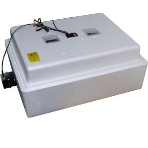 Инкубатор с аналоговым терморегулятором, цифровой индикацией, на 104 яйца, автопереворот, 12В