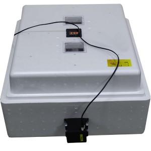 Инкубатор с цифровым терморегулятором 104 яйца автопереворот гигрометр с вентиляторами