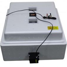Инкубатор с цифровым терморегулятором 104 яйца автопереворот 12В гигрометр