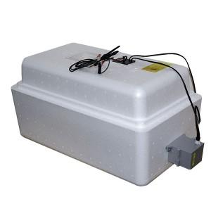 Инкубатор с аналоговым терморегулятором, цифровой индикацией, на 36 яиц, автопереворот, 12В