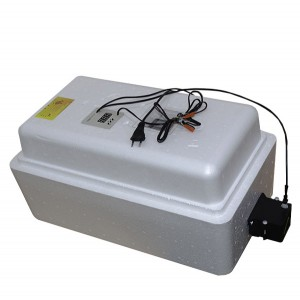 Инкубатор с цифровым терморегулятором 36 яиц автопереворот 12В гигрометр