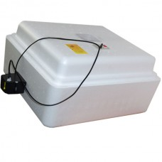 Инкубатор с аналоговым терморегулятором, цифровой индикацией, на 77 яйц, автопереворот