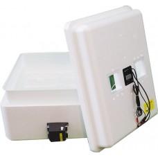 Инкубатор с цифровым терморегулятором 77 яиц автопереворот 12В